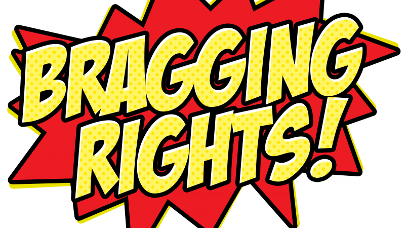 Bragging Rights! logo