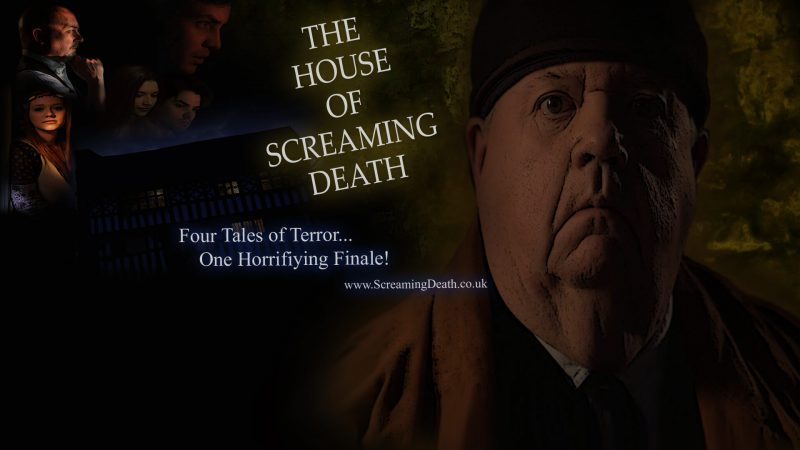 house of screaming death poster